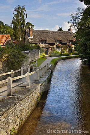 English Country Village - Yorkshire - England