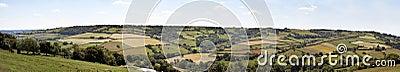 English countryside panorama