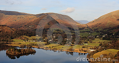 English Countryside Village, Lake District