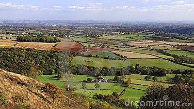 English countryside vista