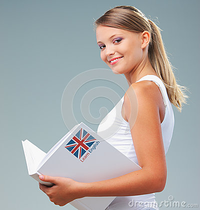 English female student