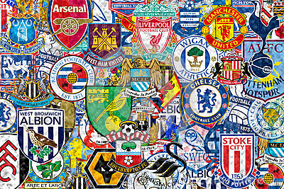 English Football Clubs Editorial Photo