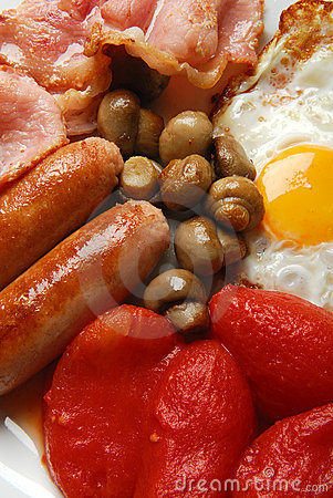 Free English Fried Breakfast. Royalty Free Stock Photography - 3541537