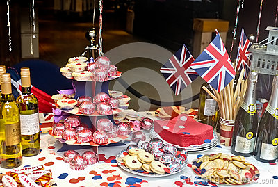 English Jubilee Tea Party