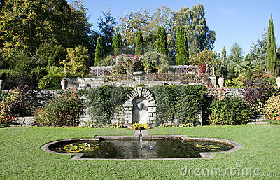 English Ornamental Garden