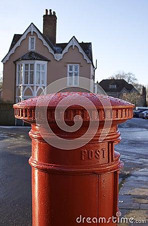 English Post Box