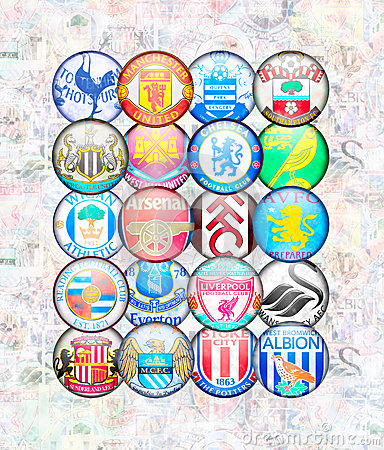 English Premier League 2012/13 Editorial Image