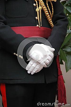 English royal officer