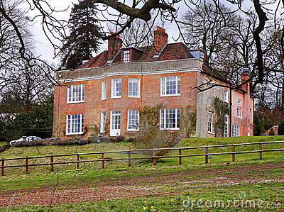 English Rural Manor House