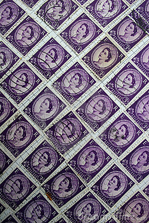 English stamps