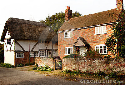 English Village Cottages