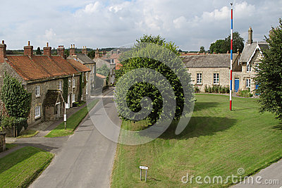 English Village Green & Maypole