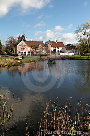 English village pond