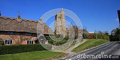 English Village Scene