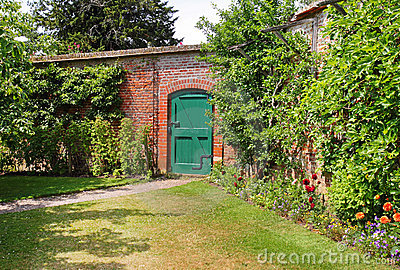 An English Walled Garden