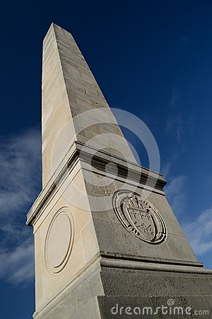 English war monument.