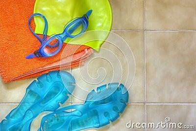 Engranaje de la natación
