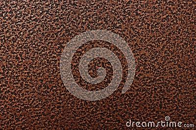 Engraved bronze metal texture