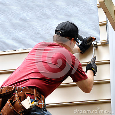 Free Enhancing His New Home Stock Image - 30837371