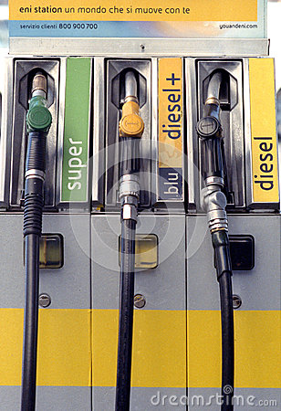 ENI Agip gas station Editorial Stock Image