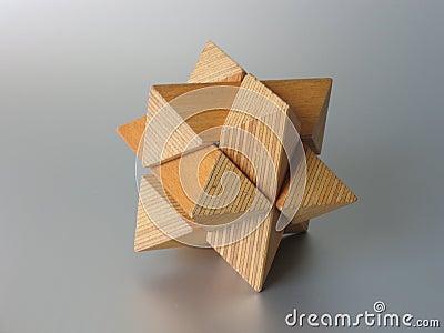 Enigma de madeira