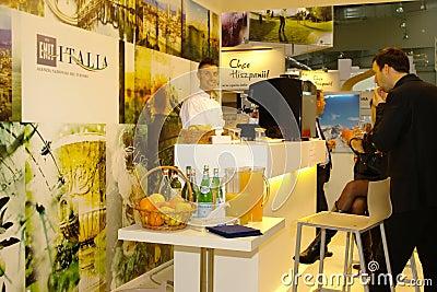 ENIT Italia exhibition at TT Warsaw Editorial Stock Photo