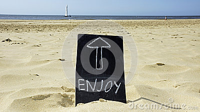 Enjoy the beach