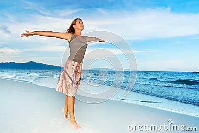 Enjoy sea breeze