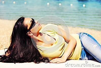 Enjoy in summer sun