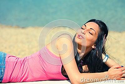 Enjoy in sun