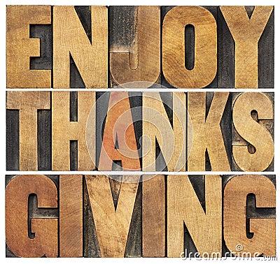 Free Enjoy Thanksgiving Stock Photos - 33722903