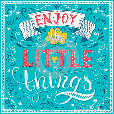 Free Enjoy The Little Things Stock Photos - 54403043
