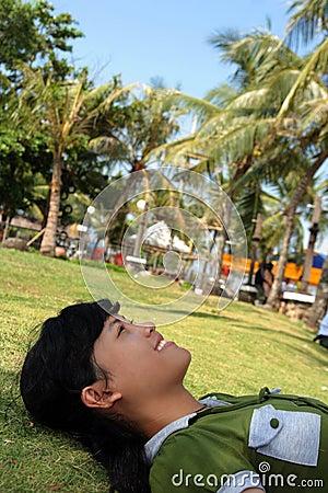 Enjoy tropical outdoor