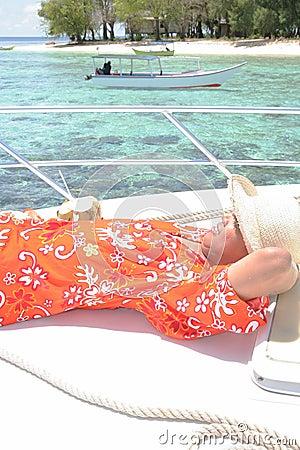 Enjoy on yacht