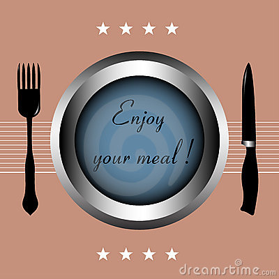 Free Enjoy Your Meal Stock Photography - 13144462