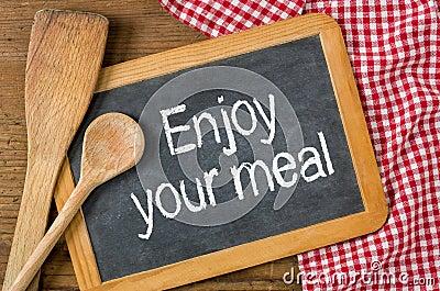 Resultado de imagen de enjoy your meal