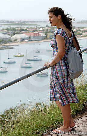 Free Enjoying Marigot View Stock Photo - 5191520