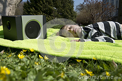 Enjoying music from wireless and portable speakers