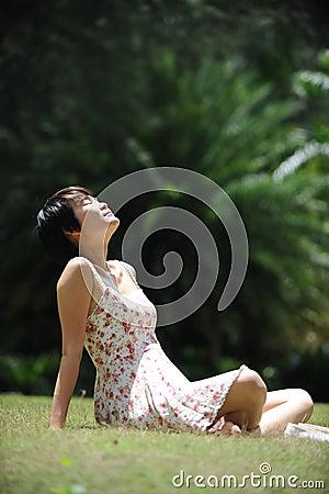 Enjoying the sunlight