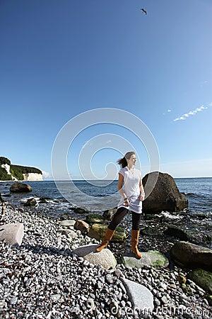 Free Enjoying The Island Rügen Royalty Free Stock Image - 13737076