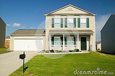 Enkelt hus