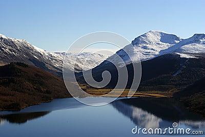Ennerdale Lake mountains