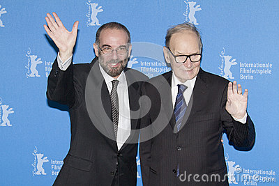 Ennio Morricone and Giuseppe Tornatore Editorial Image
