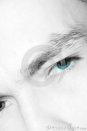 Enormt ögonkast
