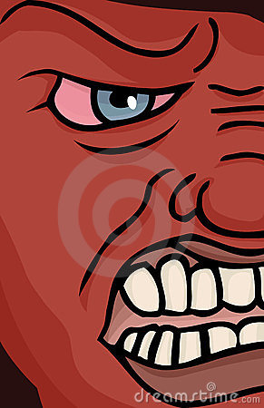 Enraged Face Stock Photos - Image: 23436103