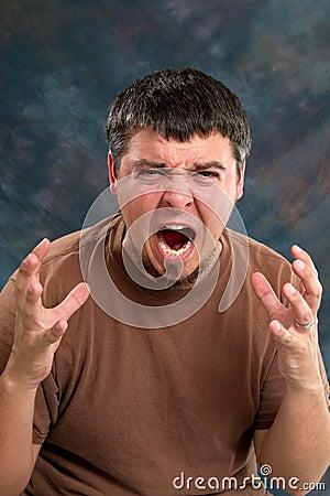Enraged Man