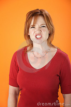 Enraged Woman