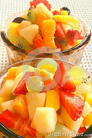 Ensalada de fruta sabrosa