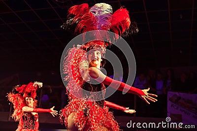 Ensemble cabaret Editorial Photography