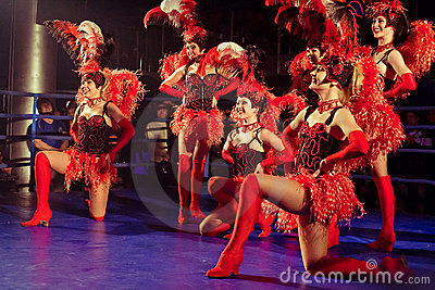 Ensemble cabaret Editorial Image